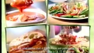 Applebee's pick 'n' pair lunch combo commercial (2007)