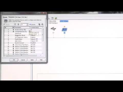 how to set up ethernet address rslogix 5000