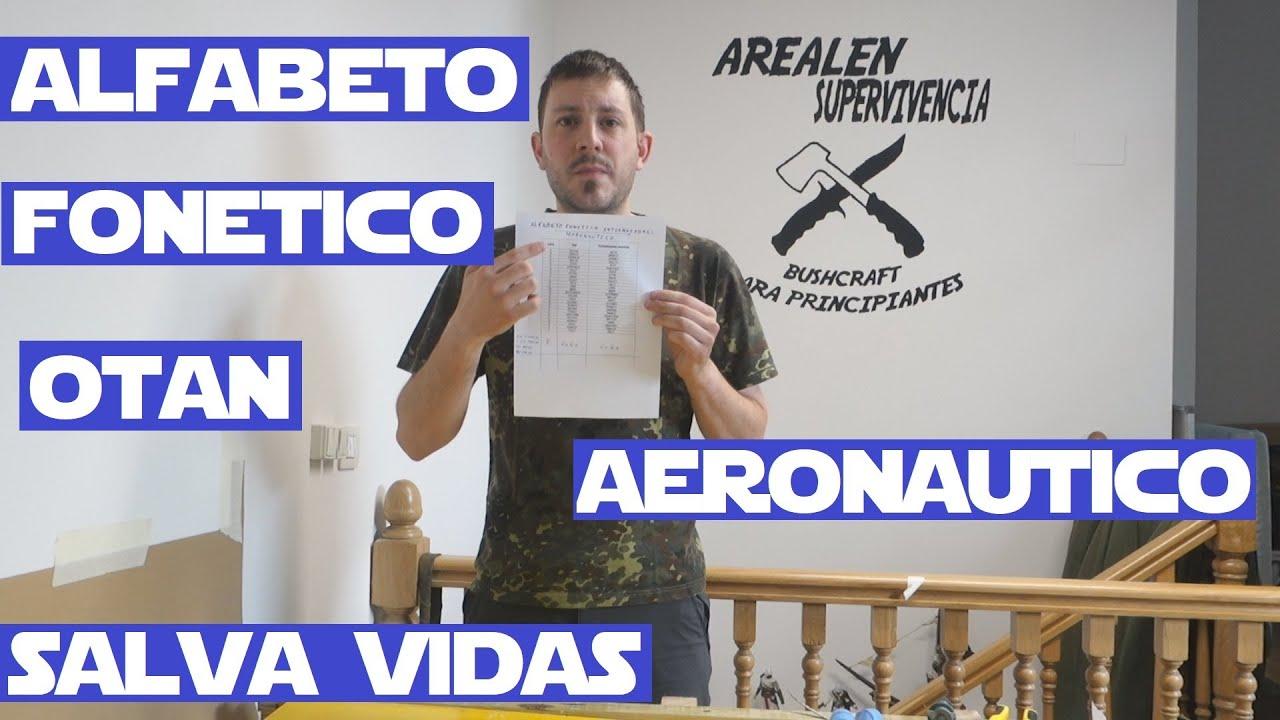 Alfabeto Fonetico o Aeronautico OACI