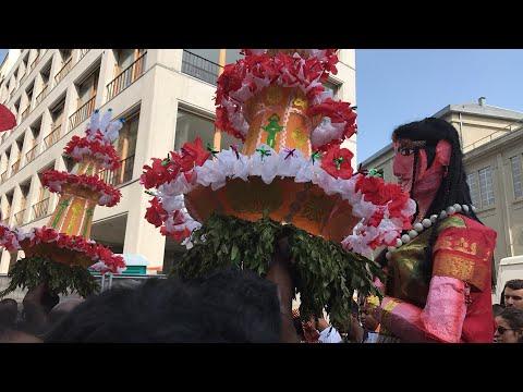 Hindu festival of Ganesha in Paris