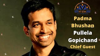 Padma Bhushan Pullela Gopichand, Chief Guest VT Seva Youth Awards 2020