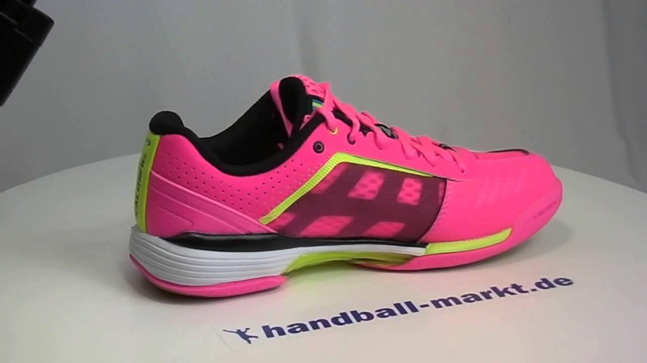 asics handballschuhe damen pink