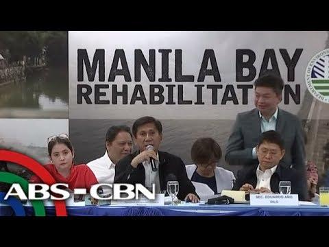 TV Patrol: Rehabilitasyon ng Manila Bay aarangkada sa Enero 27