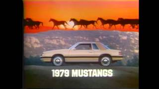 1979 Ford Mustang TV Ad Commercial 2 of 3
