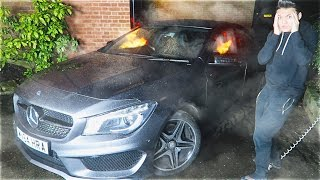EPIC CAR ON FIRE PRANK!!