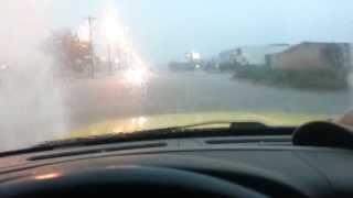 Garden City, Kansas thunderstorm
