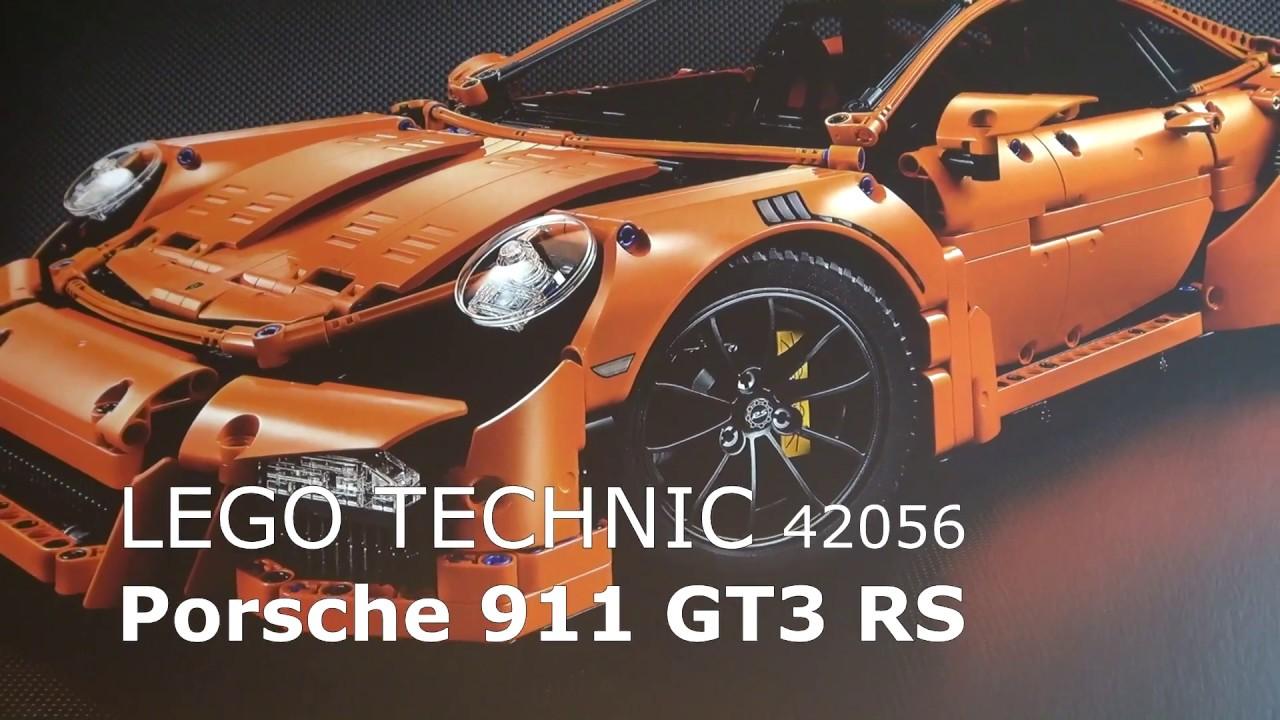 Lego Technic Porsche 911 Gt3 Rs Unboxing Schrittweise Aufgebaut Review