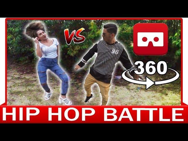 360° VR VIDEO - HIP HOP BATTLE - DANCE VIDEO - VIRTUAL REALITY 3D