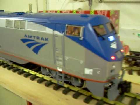 G Scale Trains Sound Test LGB Amtrak Genesis