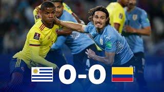 Уругвай  0-0  Колумбия видео