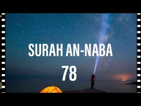 Heart touching recitation of Surah An-naba with urdu translation