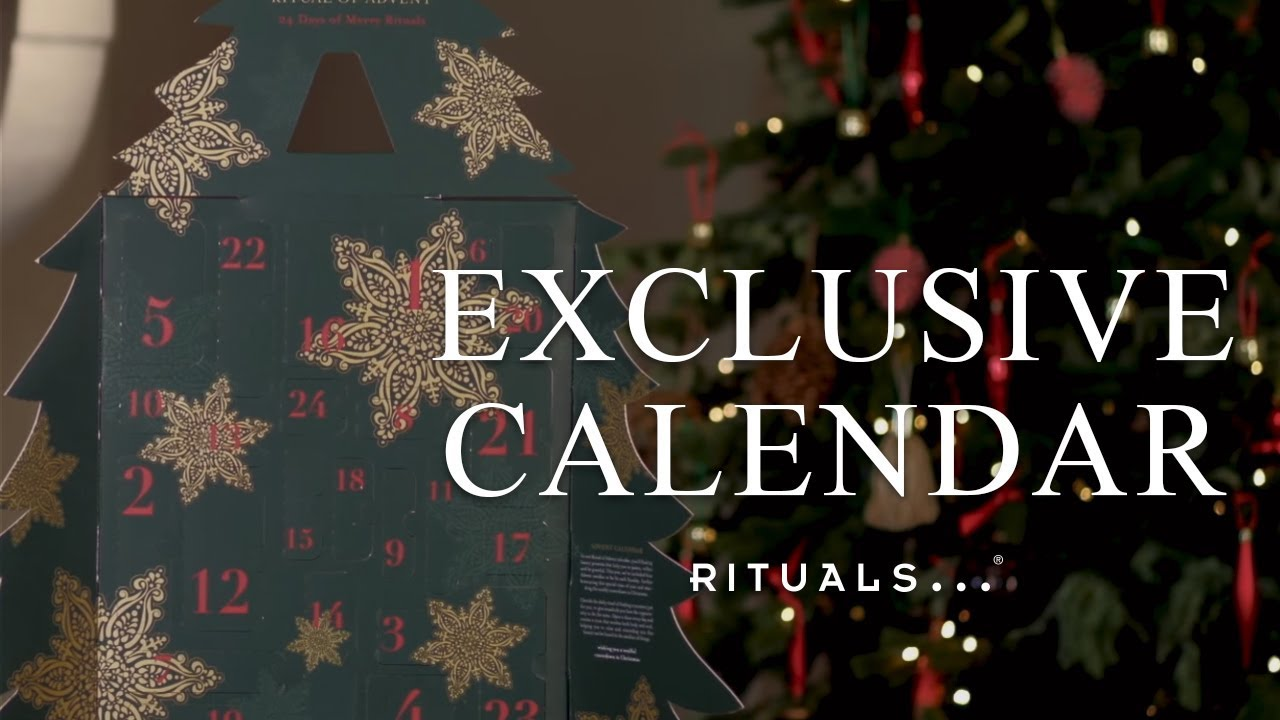 Calendrier Rituals 2018 Exclusive Calendar The Ritual Of Advent