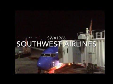 SOUTHWEST AIRLINES | BOEING 737-7H4 | SFO - SNA | FULL FLIGHT |
