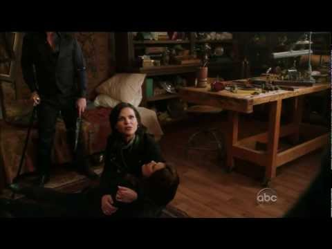 """Once Upon A Time 2x16 """"The Miller's Daughter""""   End Scene Cora Dies & Regina Blames Snow (HD)"""