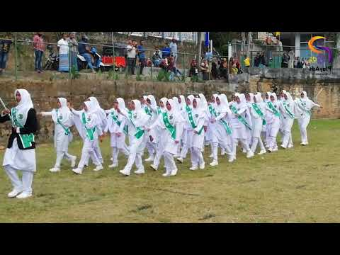 Akurana Muslim Balika Maha Vidyalaya Annual Sport Meet March Past-2019