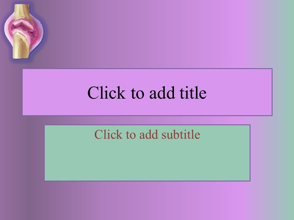 Free orthopedic powerpoint template youtube toneelgroepblik Choice Image