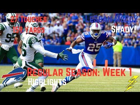 LeSean McCoy Week 1 Regular Season Highlights Shady | 9/10/2107