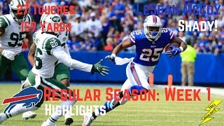 LeSean McCoy Week 1 Regular Season Highlights Shady | 9/10/2107