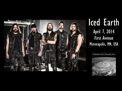 Iced Earth - Minneapolis, MN - April 7, 2014 *** FULL SHOW *** (HD)