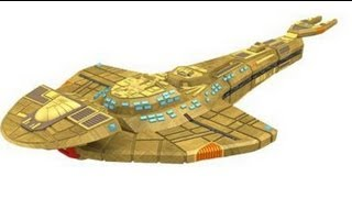 "Game On - Star Trek Attack Wing ""Kraxon"" Cardassian Galor Class Ship"