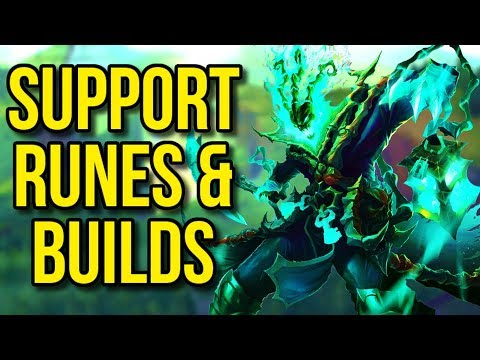 Best Support Runes and Builds  - League of Legends