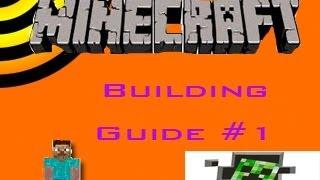 minecraft hall town tutorial build