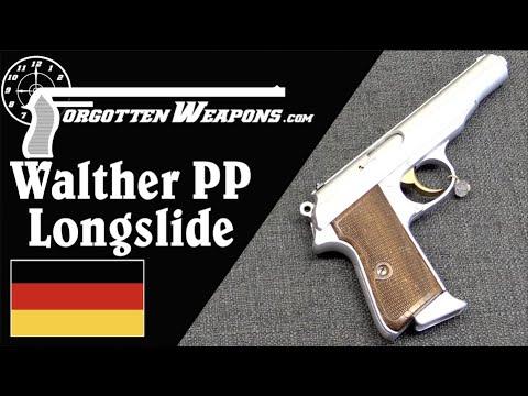 Custom 1932 Longslide Walther PP For Swiss Target Shooting