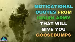 Moticational Quotes From Indian Army That Will Give You Goosebumps | Kargil Vijay Diwas