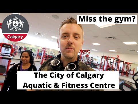 The City of Calgary Aquatic & Fitness Centre | Hitting the gym!