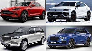 Top 10 Ultra Luxurious SUVs (2020 -2021) bentley bentayga, lamborghini urus, dbx, x6, cayenne Review