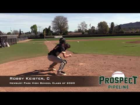 Robby Keister Prospect Video, C, Newbury Park High School Class of 2020
