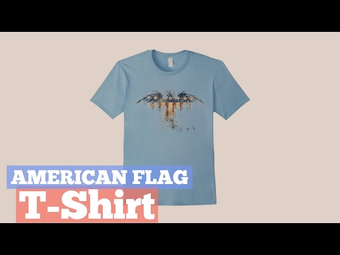 American Flag T-Shirt // Graphic T-Shirts Best Sellers