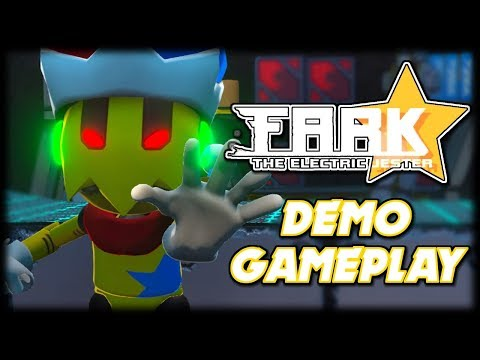 Fark the Electric Jester Demo Gameplay