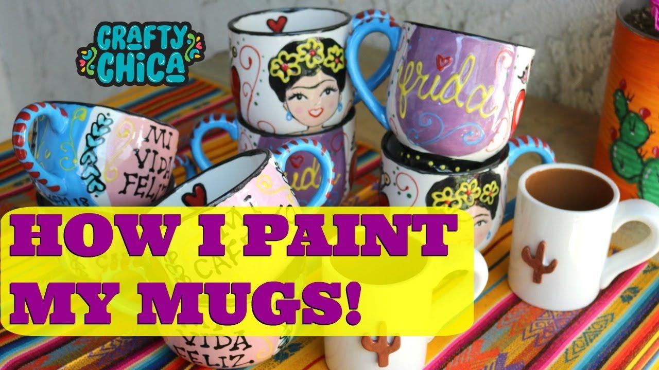 Mugs Ceramic Ceramic Techniquefrida Painting Painting Ceramic My My Mugs Painting Techniquefrida My Techniquefrida dxBeCoQrW