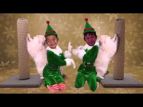 Wonder Twins Christmas Greetings