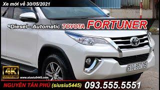 Toyota FORTUNER số tự động, máy dầu, 1 cầu nhập nguyên chiếc