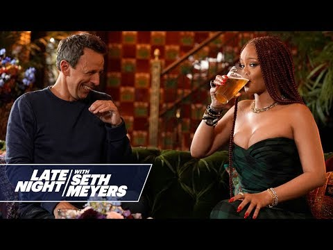 Seth and Rihanna Go Day Drinking