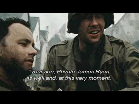 Saving Private Ryan Movie Quotes Spoilers