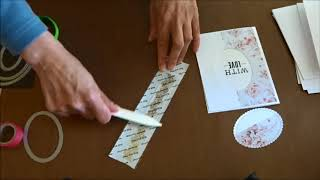 [TUTO] différentes façons d'utiliser le papier Vélin pour réaliser des cartes