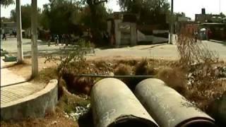 Nota Milagros Ibarra grafitis y basura en Los Reyes Acozac