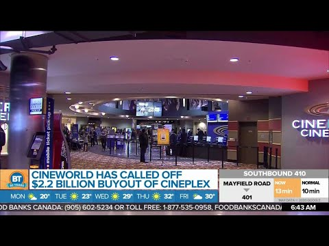 Business Report: Markets Have The Monday Blues, What's Next After Cineworld Calls Off Cineplex Buyou