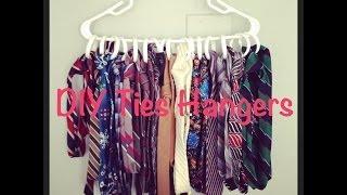 Diy Ties Hanger