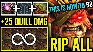 RIP Yo ALL This is How to TANK Massive Quill Damage MERACLE GAMEPLAY DOTA 2