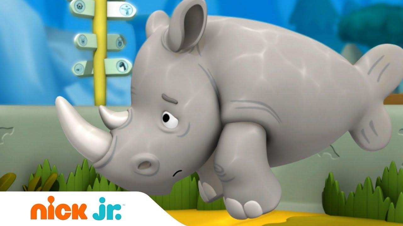 Гуппи и пузырики | Одинокий носорог | Nick Jr. Россия