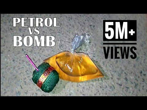 PETROL VS BOMB