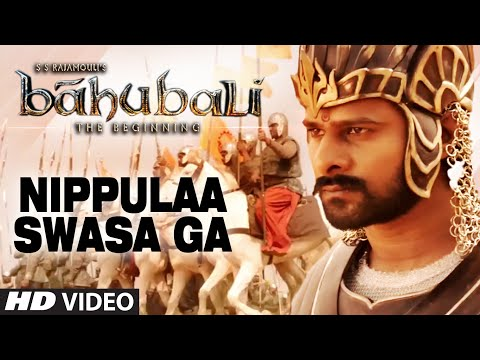Nippulaa Swasa Ga Video Song || Baahubali (Telugu) || Prabhas, Rana Daggubati, Anushka, Tamannaah