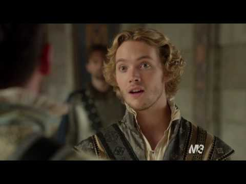 """Reign 2x03 """"Coronation"""" - Francis and Mary treat Narcisse"""
