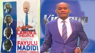 kiosque 23 Novembre felix tshisekedi, martin fayulu 2 candidat commun de l'oppsition