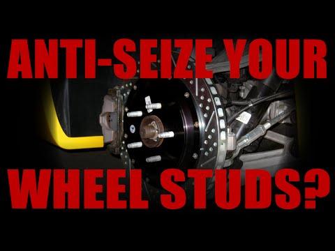 Should You Put Anti-Seize On Wheel Studs / Lug Nuts?