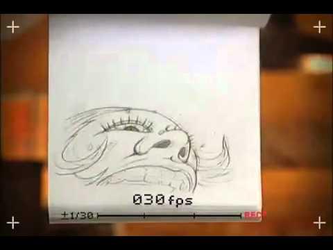 Video Ma trận làm từ hình vẽ bút chì